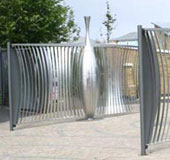 Gates and Fencing to new Primary School, Matthew Fedden