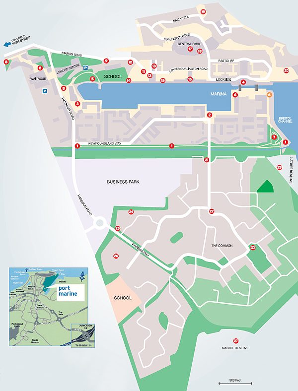 Port Marine - Trail Map